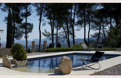 Verano con piscinas en el interior de la comunidad for Casas rurales alicante con piscina
